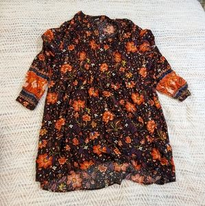 Old Navy Fall Floral dress